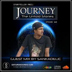 Journey - 110 guest mix by Sankadelic on Saturo Sounds Radio UK [20.12.19]
