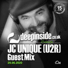 JC UNIQUE from U2R is on DEEPINSIDE #03