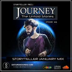 Journey - 111 Storyteller on Saturo Sounds Radio UK [17.01.20]
