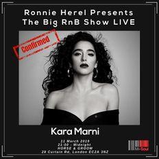 Kara Marni - #TheBIGRnBShow LIVE! Acoustic Performance March 11th 2019