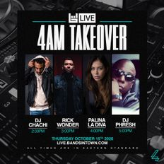 DJ Phresh - Live from the BandsinTown Twitch 4AMNYC Take Over - 10/15/2020
