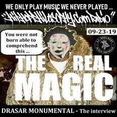 Drasar Monunmental - The Official HipHopPhilosophy.com Radio interview PLUS! - LIVE - 09-23-19