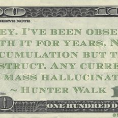 Money Isn't Real (Consensual Hallucination Mix) exclusive!