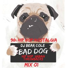 Bad Dog 90s HipHop & R&B Nostalgia Mix 01 / Hip Hop, Rap, R&B, 90s / Instagram & Socials @djbearcole