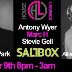 This Is Graeme Park: House Legends @ Saltbox Nottingham 09OCT21 Live DJ Set