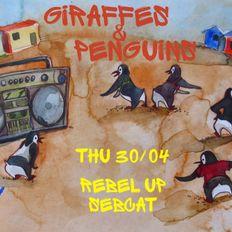 Rebel Up Tropical Brunch for Giraffes & Penguins (48FM Liege)