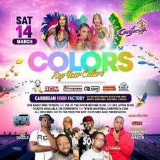 Colors Fete Promo Mix - Montreal - Caribbean Food Factory
