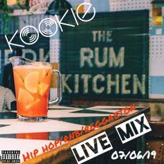 @DJKookieWorld Live at The Rum Kitchen (07/06/19) - Hip Hop/Reggaeton/RnB/Grime