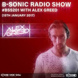 B-SONIC RADIO SHOW #201 by Alex Greed