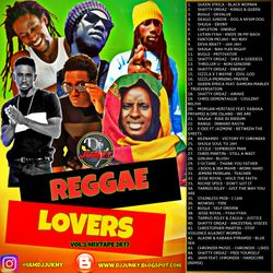 DJJUNKY - REGGAE LOVERS VOL.5 MIXTAPE 2K17