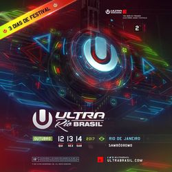 Nicky Romero LIVE @ Ultra Music Festival Brazil 2017