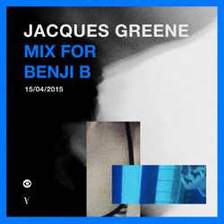 Jacques Greene (Vase Records, LuckyMe, Night Slugs) @ Headphones Mix, BBC Radio 1 (16.04.2015)
