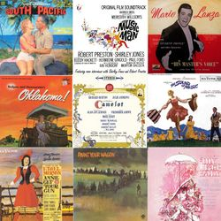 The Best Of The Musicals, feat South Pacific, My Fair Lady, The Sound Of Music, Paint Your Wagon