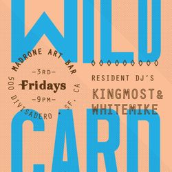 WILD CARD LIVE MIX feat King Most & White Mike