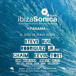 STEVE BUG - IBIZA SONICA ON TOUR @ EL SITIO PANAMÁ w/ IGOR MARIJUAN - 20 MARZ 2015