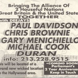 Paul Davidson - Live (side.a) 1993