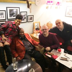 This week, we chat backstage to Pee Wee Ellis, China Moses and Ian Shaw.