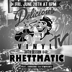 DVTV Session #48 : Rhettmatic (Beat Junkies)