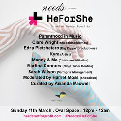 Needs x HeForShe // Parenthood In Music by shesaidso