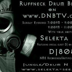 Ruffneck Drum bizniz Live on www.DNBTV.com