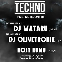 OLIVETRONIK@CLUB SOLE thursday,december15