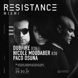 Dubfire B3B Nicole Moudaber & Paco Osuna w/ MODEL 1 (Recorded at Ultra Music Festival 2019, Miami)