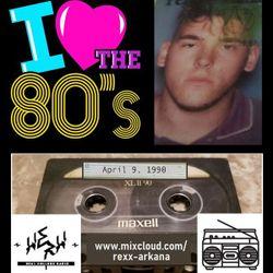 30 Years: DJ Rexx Arkana - WERW - April 9, 1990