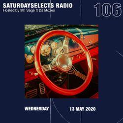 SaturdaySelects Radio Show #106 ft DJ Mozes