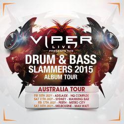Smooth (Viper Recordings - Slovenia) @ Viper Slammers Australasia Tour 2015 Promo Mix (03.07.2015)