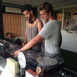 BENJAMIN ALEXANDER Y B2B NICO SUCRE SALE - COCOBEACH PARTY @ PARIS - 22 JUNE 2014