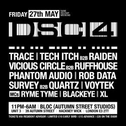 DSCI4 - 02 - Raiden (OffKey, Renegade Hardware) @ Bloc Autumn Street Studios London (27.05.2016)