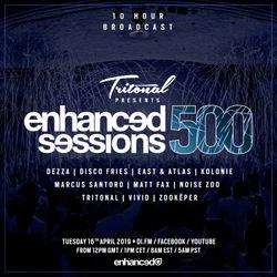 Enhanced Sessions 500 Hour 8 with Matt Fax