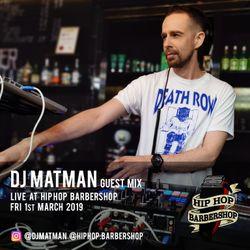 Old School Hip Hop set LIVE @ Hip Hop Barbershop 01.03.19