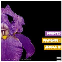 OCnotes Top Tree Diamonds & Jewels Mix #18