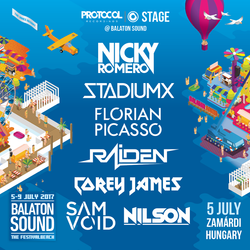 Corey James LIVE @ Protocol Recordings Stage Balaton Sound