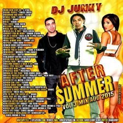 DJJUNKY - AFTER SUMMER VOL. 3 MIXTAPE