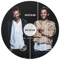Solid Steel Radio Show 23/12/2016 Hour 1 - Acid Arab