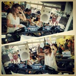 ANJA SCHNEIDER / LIVE from Mood at Sands sponsored by Absolut Vodka / 07.08.2013 / Ibiza Sonica