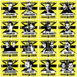 Massive artists b2b2b2b2b2b LIVE @ God Save The Groove Boat Party ADE18