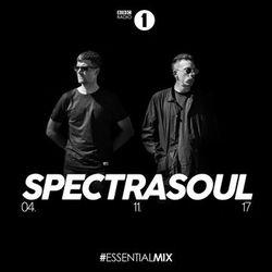 SpectraSoul (Ish Chat Music, Shogun Audio) @ BBC Radio 1`s Essential Mix, BBC Radio 1 (04.11.2017)