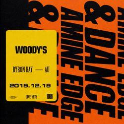 2019.12.19 - Amine Edge & DANCE @ Woody's, Byron Bay, AU