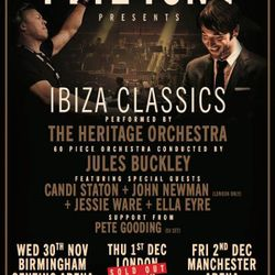 Pete Gooding live at Ibiza Classics at The O2 London (01.12.16)