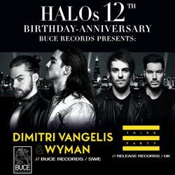 HALO 12 Years - THRID PARTY - Live from the Club (30 min.)