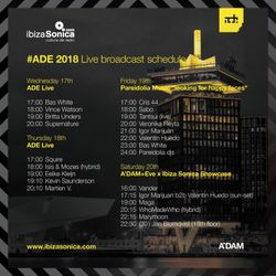 UPERCENT _ LIVE BROADCAST A'DAM+EVE x IBIZA SONICA _ SAT 20TH AT ADAM TOREN