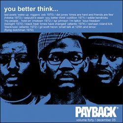 PAYBACK Volume 40 December 2005