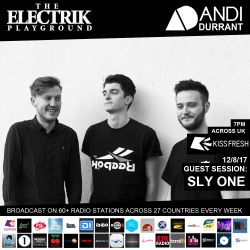 Electrik Playground 12/8/17 inc Sly One Guest Session