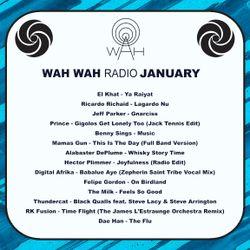 Wah Wah Radio Show - January 2020