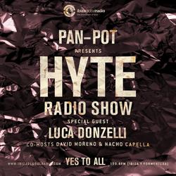 Pan-Pot - Hyte on Ibiza Global Radio Feat. Luca Donzelli - September 21