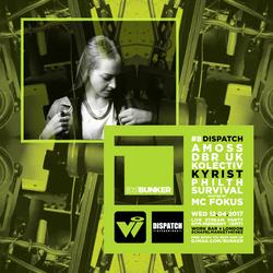 Kyrist & MC Fokus (Dispatch Recordings) @ DJ Mag Bunker #8