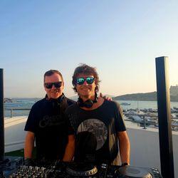 Hernan Cattaneo (Sudbeat) b2b Nick Warren (Hope Rec.) @ Sky Bar, OD Ocean Drive - Ibiza (09.08.2018)